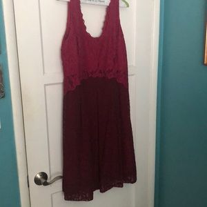 Anthropologie brand lace dress